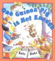 Cover art for ONE GUINEA PIG IS NOT ENOUGH