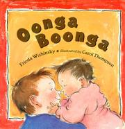 OONGA BOONGA by Frieda Wishinsky