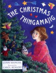 Book Cover for THE CHRISTMAS THINGAMAJIG