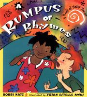 RUMPUS RHYMES by Bobbi Katz