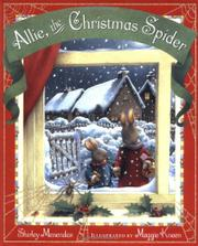 Book Cover for ALLIE, THE CHRISTMAS SPIDER