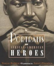 Cover art for PORTRAITS OF AFRICAN-AMERICAN HEROES