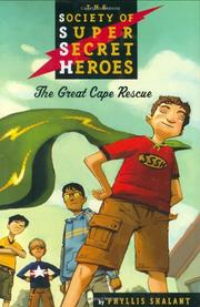 THE GREAT CAPE RESCUE by Phyllis Shalant