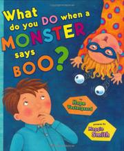 WHAT DO YOU DO WHEN A MONSTER SAYS BOO? by Hope Vestergaard