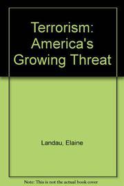 TERRORISM by Elaine Landau