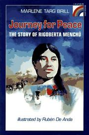 JOURNEY FOR PEACE by Marlene Targ Brill