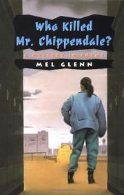 WHO KILLED MR. CHIPPENDALE? by Mel Glenn