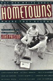 HOMETOWNS by John Preston
