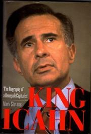 KING ICAHN by Mark Stevens
