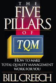 THE FIVE PILLARS OF TQM by Bill Creech