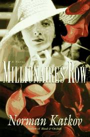 MILLIONAIRES ROW by Norman Katkov