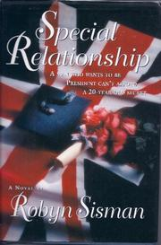 SPECIAL RELATIONSHIP by Robyn Sisman
