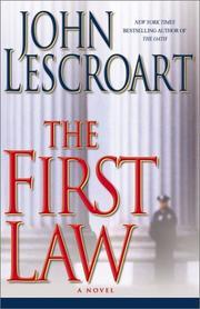 THE FIRST LAW by John Lescroart