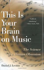 Book Cover for THIS IS YOUR BRAIN ON MUSIC