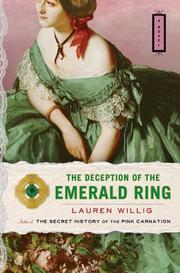 Cover art for THE DECEPTION OF THE EMERALD RING