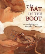 THE BAT IN THE BOOT by Annie Cannon