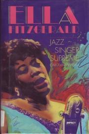 ELLA FITZGERALD by Carolyn Wyman