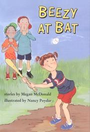 BEEZY AT BAT by Megan McDonald
