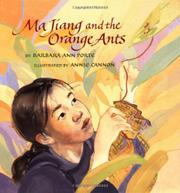 MA JIANG AND THE ORANGE ANTS by Barbara Ann Porte