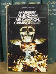 MR. CAMPION by Margery Allingham