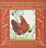 Cover art for THE LITTLE RED HEN