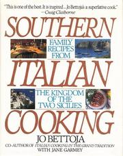 SOUTHERN ITALIAN COOKING by Jo Bettoja