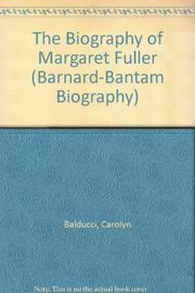 MARGARET FULLER by Carolyn Feleppa Balducci