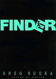 FINDER by Greg Rucka