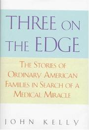 Book Cover for THREE ON THE EDGE