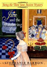 JANE AND THE WANDERING EYE by Stephanie Barron