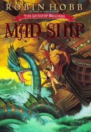 Cover art for THE MAD SHIP