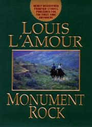 Cover art for MONUMENT ROCK