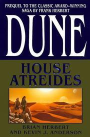 DUNE: HOUSE ATREIDES by Brian Herbert