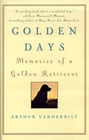 GOLDEN DAYS by Arthur Vanderbilt