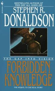 Cover art for FORBIDDEN KNOWLEDGE
