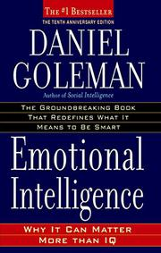 EMOTIONAL INTELLIGENCE by Daniel Goleman