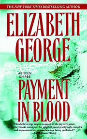 PAYMENT IN BLOOD by Elizabeth George