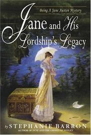 Book Cover for JANE AND HIS LORDSHIP'S LEGACY