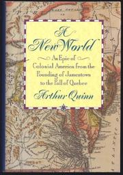 A NEW WORLD by Arthur Quinn