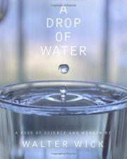 A DROP OF WATER by Walter Wick