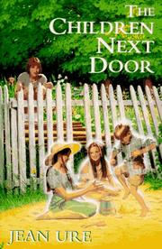 THE CHILDREN NEXT DOOR by Jean Ure