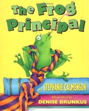 THE FROG PRINCIPAL by Stephanie Calmenson