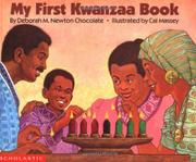MY FIRST KWANZAA BOOK by Deborah M. Newton Chocolate