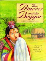 THE PRINCESS AND THE BEGGAR by Anne Sibley O'Brien