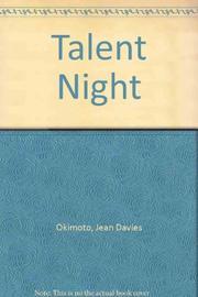 TALENT NIGHT by Jean Davies Okimoto