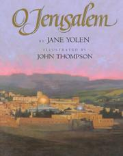 O JERUSALEM by Jane Yolen