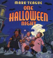 ONE HALLOWEEN NIGHT by Mark  Teague