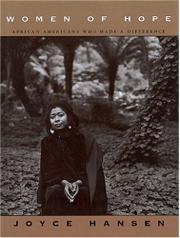 WOMEN OF HOPE by Joyce Hansen