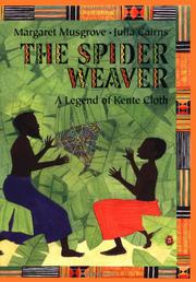 Cover art for THE SPIDER WEAVER