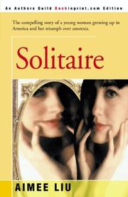 SOLITAIRE by Aimee Liu